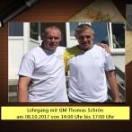 Lehrgang mit GM Thomas Schrön am 08.10.2017 von 14:00 Uhr bis 17:00 Uhr