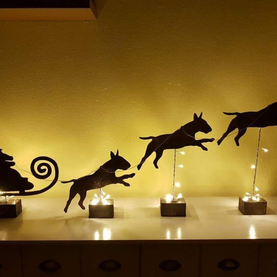 Weihnachtsbild Bullis
